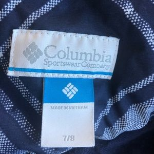 Columbia Jackets & Coats - Girls Omni Shield Plaid Jacket Size Small 7 8